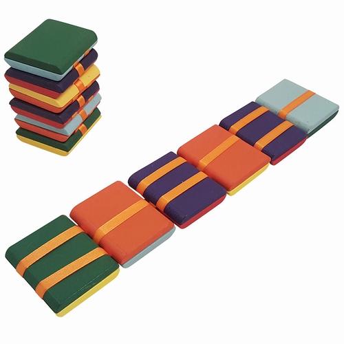 Jakobsladder / Klapperslang kleur; 6 plankjes