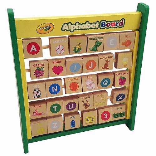 Flip Flop Alphabet Board (English); Crayola