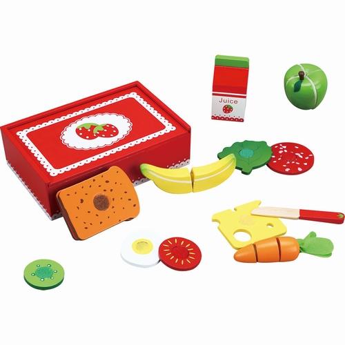 Lunch box aardbei inclusief inhoud