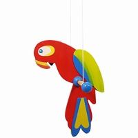 Draai papagaai klein rode snavel