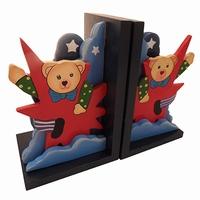 Boekensteun beer sterren