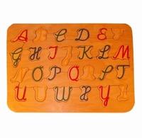 Legpuzzel ABC hoofd letters