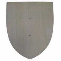 Schild natural; houten handvat (gv)
