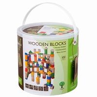 Blokkenton met 100 blokken; Jouéco 80019