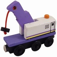 Wagon met kraan