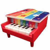 Piano rood 8 toons