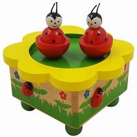 Muziekdoos dansende lieveheersbeest (gv)