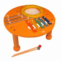 Muziektafel oranje