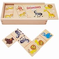 Domino wilde dieren 28-delig; Playwood