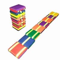 Jakobsladder / Klapperslang kleur; 8 plankjes