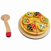 Snij pizza puntjes; met pizzasnijder