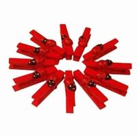 S/12 Wasknijpers lvhb rood