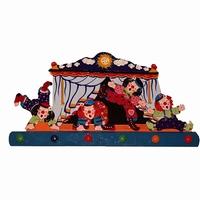 Kapstok circus groot; 6 pennen